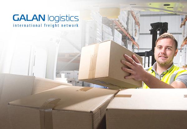 Strona internetowa Galan Logistics realizacje agencja marketingowa social media Hesna