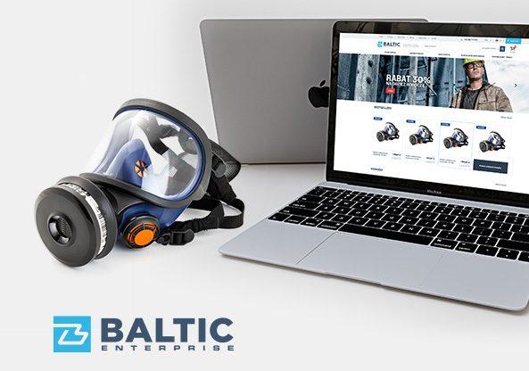 Sklep internetowy Baltic realizacje hesna agencja marketingowa social media